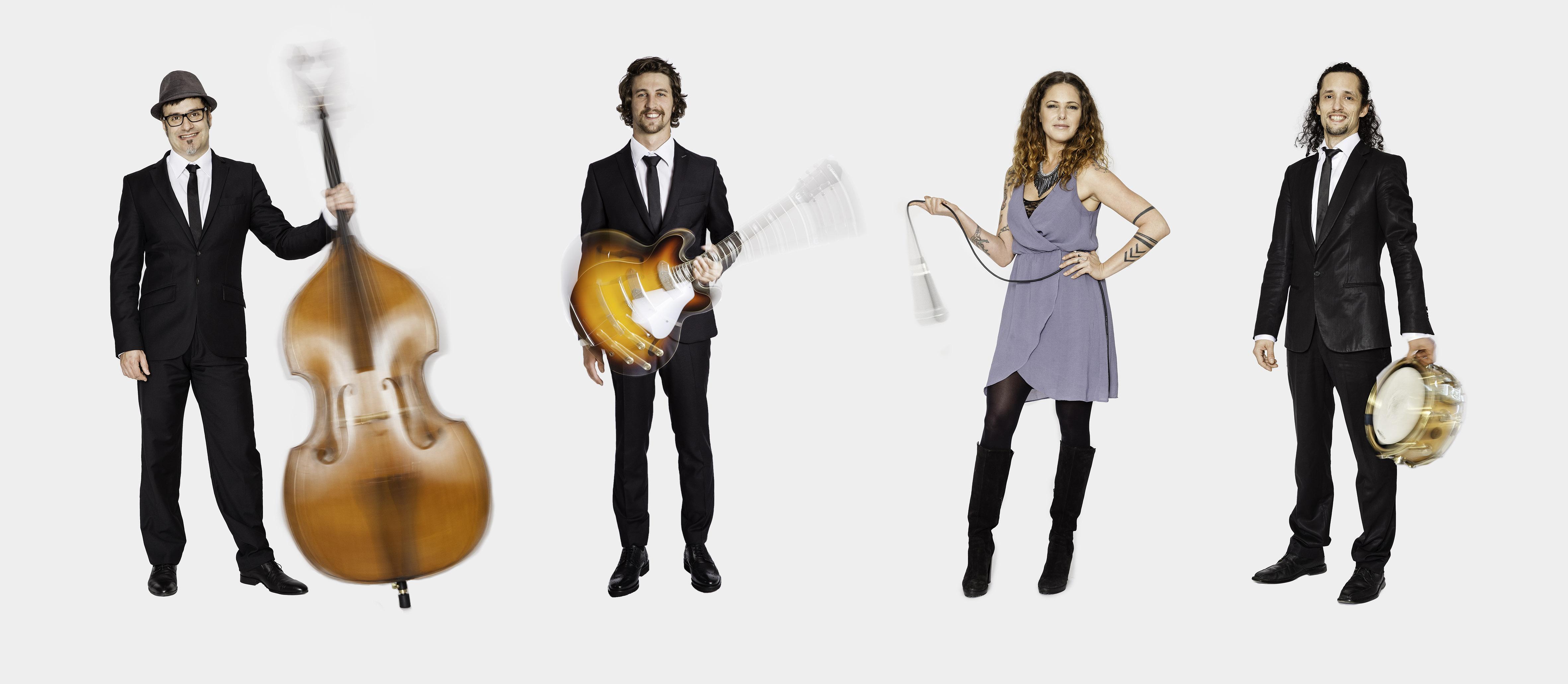 B.Streetband Quartet Hochzeitsband Tirol